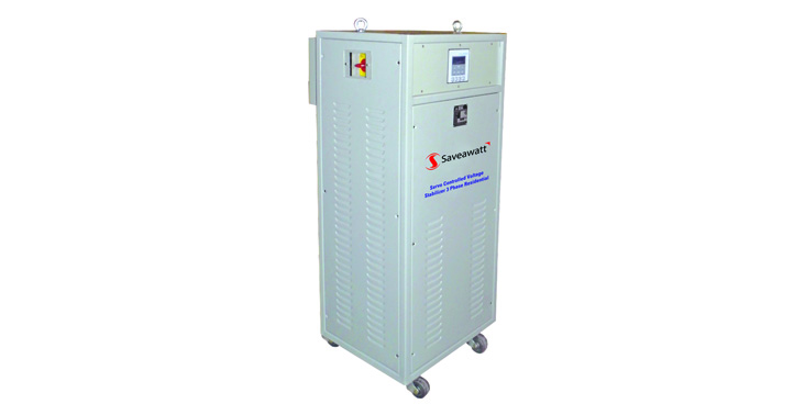 Servo Controlled Voltage Stabilizer 3 Phase Residential